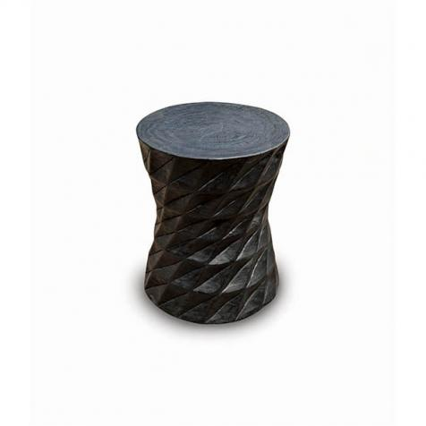 STOOL BLACK WOOD 1200
